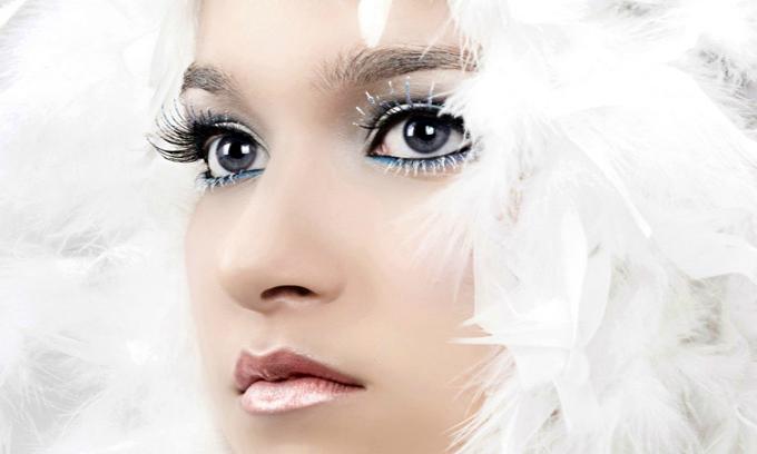 Макияж Снегурочки и карнавальный: полезные советы, разные образы и фото